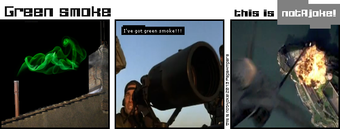 Habemus papam green smoke