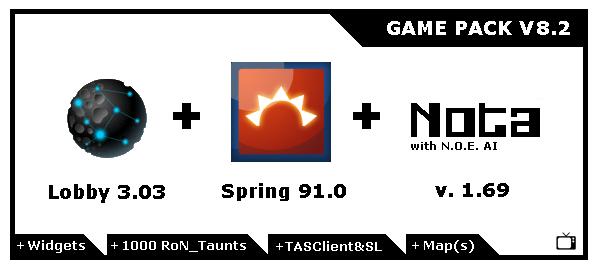 NOTA game pack v8.2