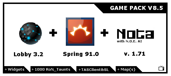 NOTA game pack v8.5
